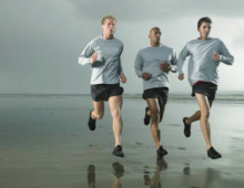 """Amp Up Your Run with Sandy Terrain,"" The Globe and Mail"